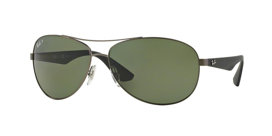 11546183e5 Sunglasses Ray-Ban RB3526 029 9A. Frame  matte gunmetal. Lenses  dark green  polarized