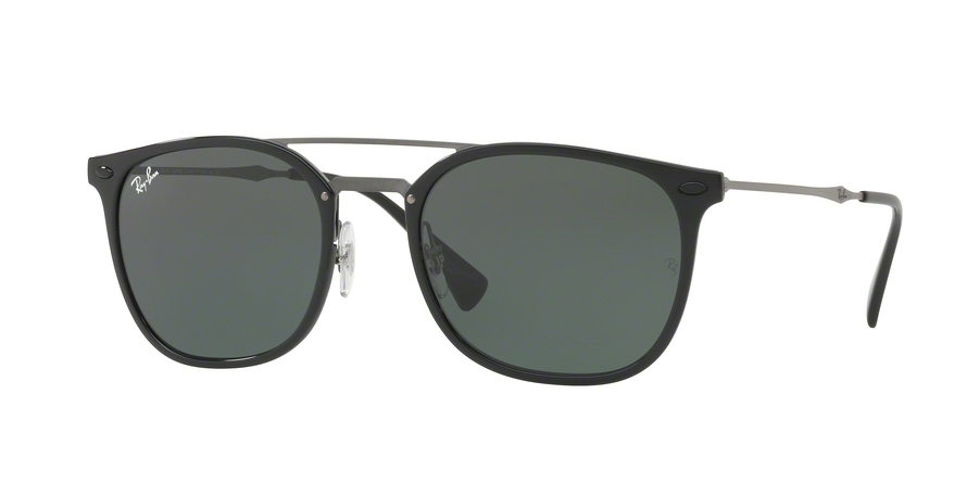 7a2f793b33d Sunglasses Ray-Ban RB4286 601 71. Frame  black. Lenses  green