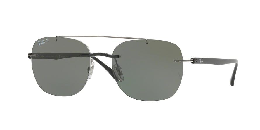 47c9e667ed3 Sunglasses Ray-Ban RB4280 601 9A. Frame  black. Lenses  green polarized
