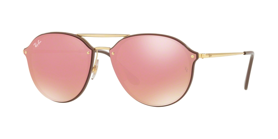 930cd14c5a Sunglasses Ray-Ban RB4292N Blaze Doublebridge 6327E4. Frame  brown