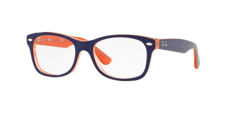 64b3831af5 Eyeglasses Ray-Ban Junior RY1528 3762. Frame  orange transparent on ...
