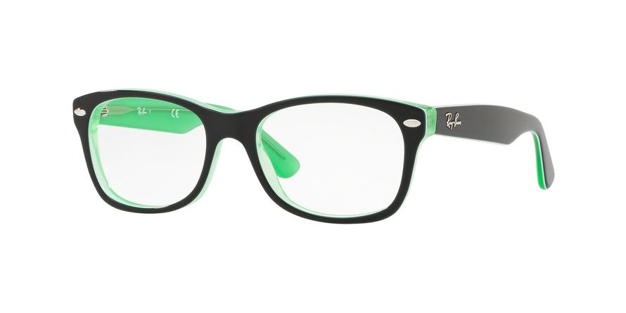 97b3b9af8c Eyeglasses Ray-Ban Junior RY1528 3764. Frame  green transparent on ...