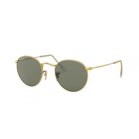 Ray-Ban RB3447 Round Metal 001/58