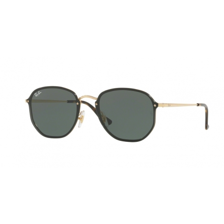 Ray-Ban RB3579N Blaze Hexagonal 001/71 | Frame: arista | Lenses: green