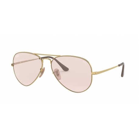 Ray-Ban RB3689 Aviator Metal II 001/T5