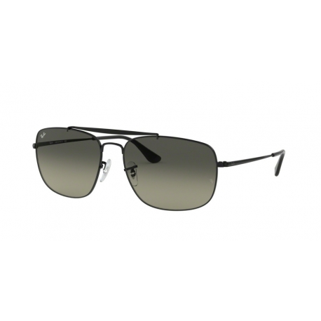 Ray-Ban RB3560 The Colonel 002/71 | Frame: black | Lenses: light grey gradient dark grey