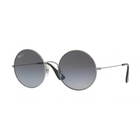 Ray-Ban RB3592 Ja-Jo 004/T3 | Frame: gunmetal | Lenses: light grey gradient grey polarized