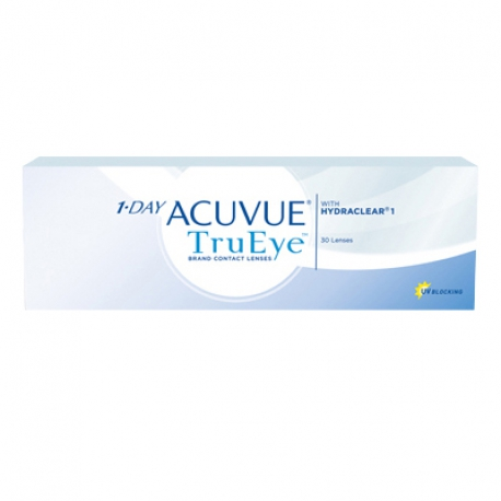 Johnson & Johnson 1-DAY ACUVUE TruEye | Type: spherical for myopia and hypermetropia in silicone hydrogel | Life: daily disposable
