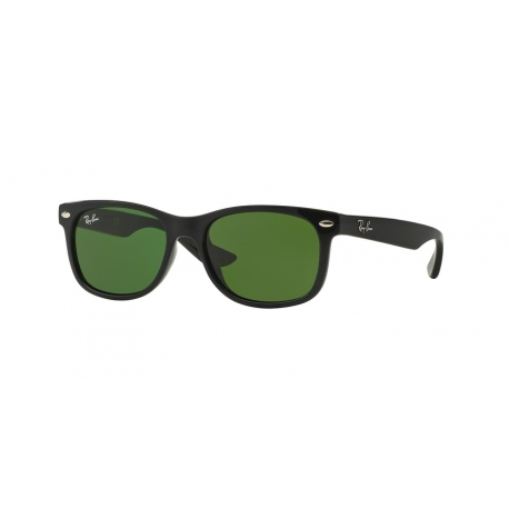 Ray-Ban Junior RJ9052S Junior New Wayfarer 100/2 | Montatura: nero brillante | Lenti: verde