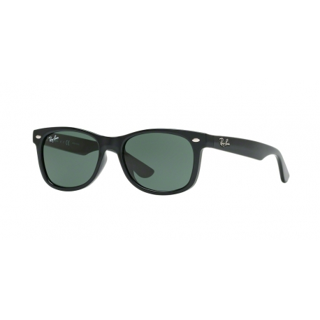 Ray-Ban Junior RJ9052S Junior New Wayfarer 100/71 | Montatura: nero | Lenti: verde