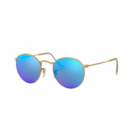 Ray-Ban RB3447 Round Metal 112/4L