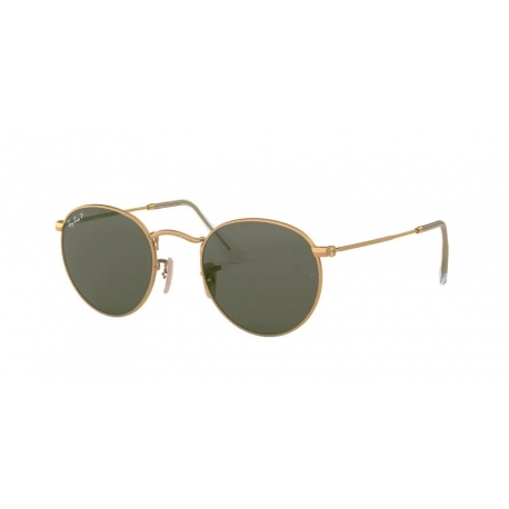 Ray-Ban RB3447 Round Metal 112/58