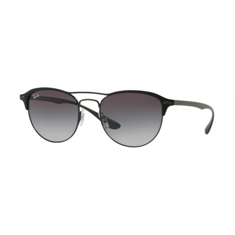 Ray-Ban RB3596 186/8G | Frame: black on top matte black | Lenses: grey gradient dark grey