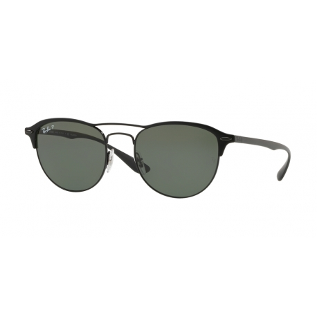 Ray-Ban RB3596 186/9A | Frame: black on top matte black | Lenses: grey gradient dark grey