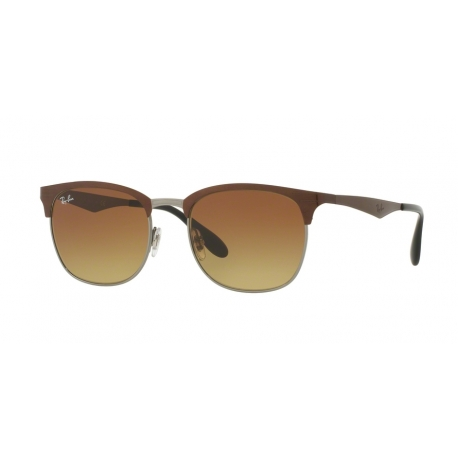 Ray-Ban RB3538 188/13 | Frame: top brown on gunmetal | Lenses: light brown gradient brown