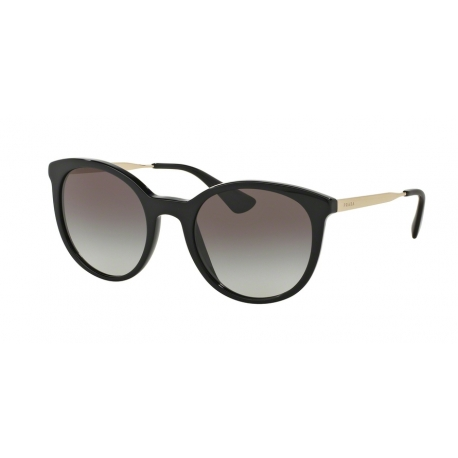 Prada PR 17SSF Cinema 1AB0A7 | Frame: black | Lenses: grey gradient