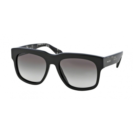 Prada PR 14QS Cast 1AB0A7 | Frame: black | Lenses: grey gradient