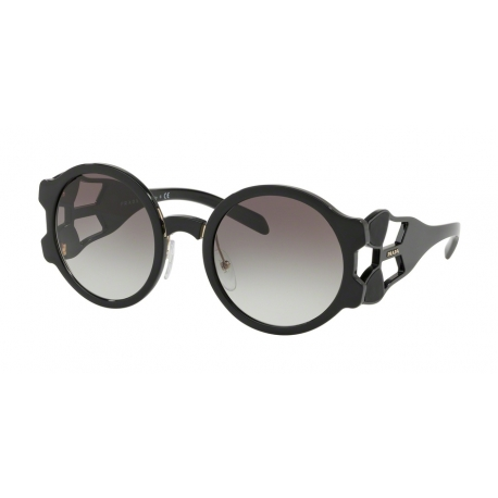 Prada PR 13US 1AB0A7 | Frame: black | Lenses: grey gradient