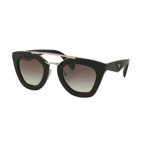 Prada PR 14SS Ornate 1AB0A7 | Frame: black | Lenses: grey gradient