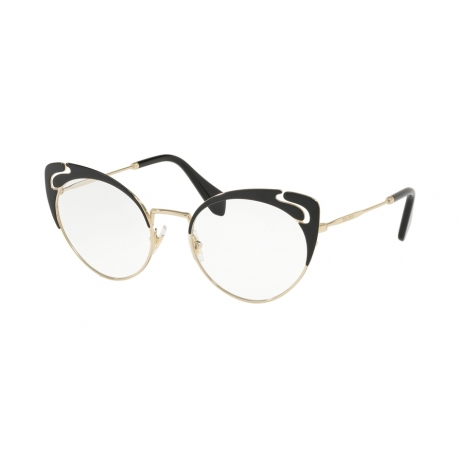 Miu Miu MU 50RV 1AB1O1 | Frame: pale gold, black