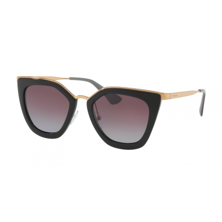 Prada PR 53SS 1AB2A0 | Frame: black | Lenses: polarized grey violet