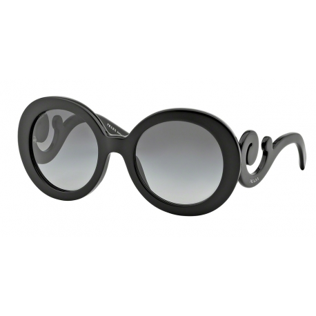 Prada PR 27NSA 1AB3M1 | Frame: shiny black | Lenses: grey gradient