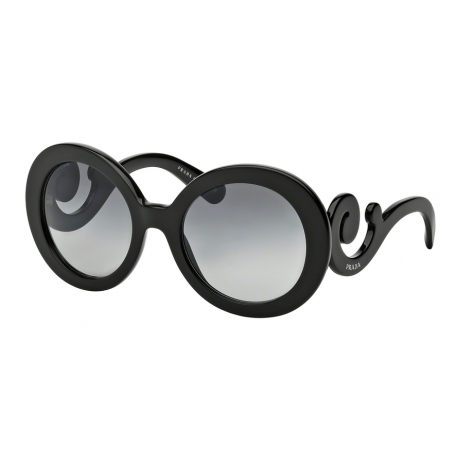 Prada PR 27NS Minimal Baroque 1AB3M1 | Frame: black | Lenses: grey gradient