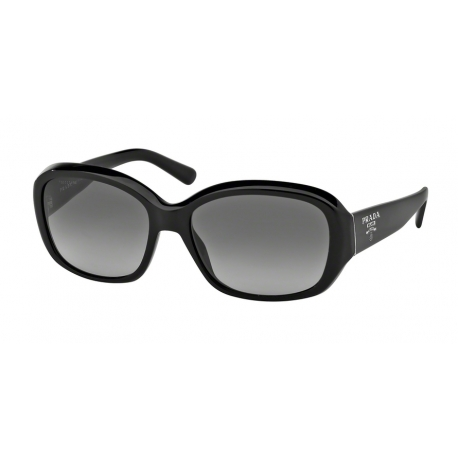 Prada PR 31NSA 1AB3M1 | Frame: shiny black | Lenses: grey gradient