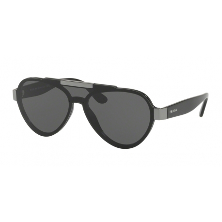 Prada PR 01US 1AB5S0 | Frame: black | Lenses: grey