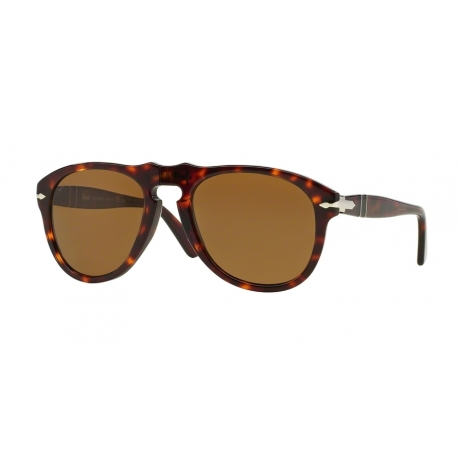 Persol PO0649 24/57 | Frame: havana | Lenses: crystal brown polarized