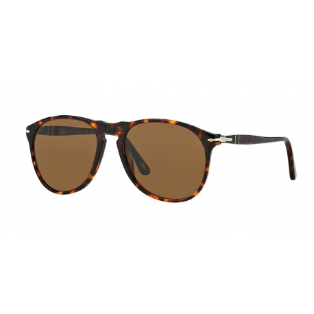 Persol PO9649S 24/57 | Frame: havana | Lenses: crystal brown polarized