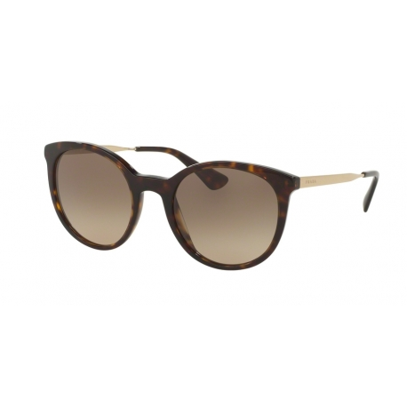Prada PR 17SS Cinema 2AU3D0 | Frame: havana | Lenses: brown gradient