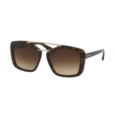 Prada PR 24RS Cinema 2AU3D0 | Frame: havana | Lenses: light brown gradient light grey
