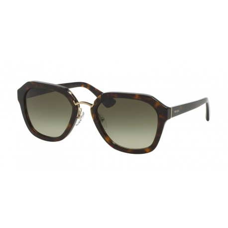 Prada PR 25RS Cinema 2AU4M1 | Frame: havana | Lenses: green gradient