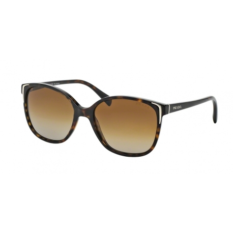 Prada PR 01OS 2AU6E1 | Frame: havana | Lenses: polarized brown gradient