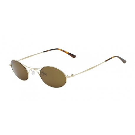 Giorgio Armani AR6018TK 30717C | Frame: matte pale gold | Lenses: dark brown