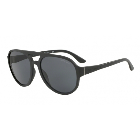 Giorgio Armani AR6037 315287 | Frame: brushed black | Lenses: grey gradient