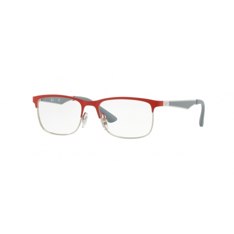 Ray-Ban Junior RY1052 4059 | Frame: silver matte red