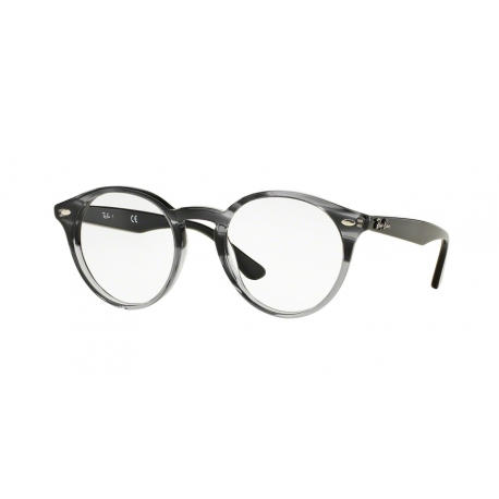 Ray-Ban RX2180V 5571 | Frame: gradient striped grey