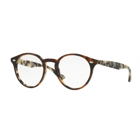 Ray-Ban RX2180V 5676 | Frame: top brown havana on havana beige