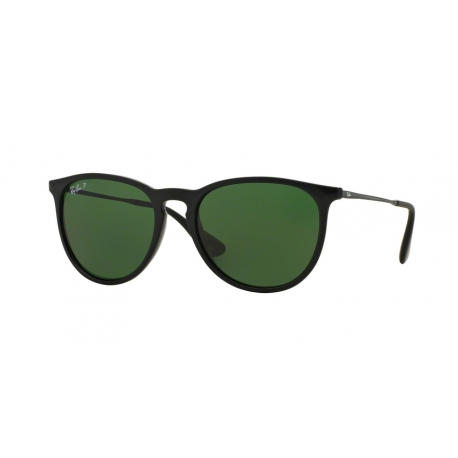 Ray-Ban RB4171 Erika 601/2P | Frame: black | Lenses: polarized green