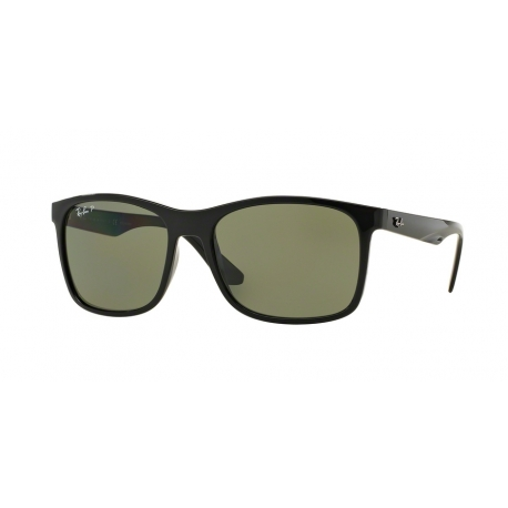 Ray-Ban RB4232 601/9A | Frame: black | Lenses: green polarized