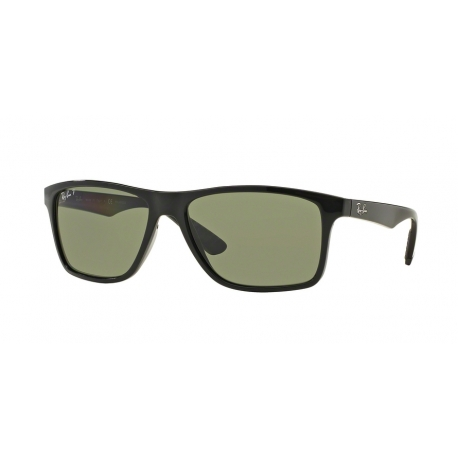 Ray-Ban RB4234 601/9A | Frame: black | Lenses: green polarized