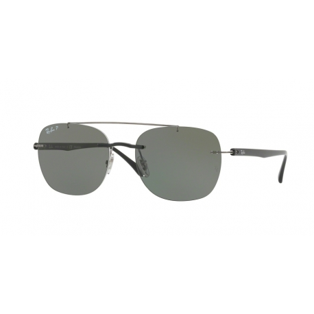 Ray-Ban RB4280 601/9A | Frame: black | Lenses: green polarized