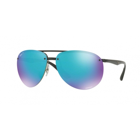 Ray-Ban RB4293CH 601/A1 | Frame: black | Lenses: green mirror blue polarized