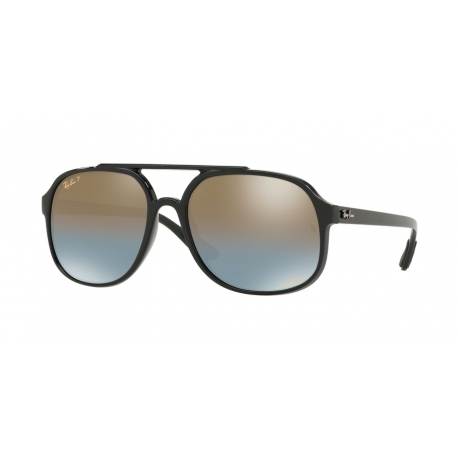 Ray-Ban RB4312CH 601/J0 | Frame: black | Lenses: blue gradient mirror gold polarized