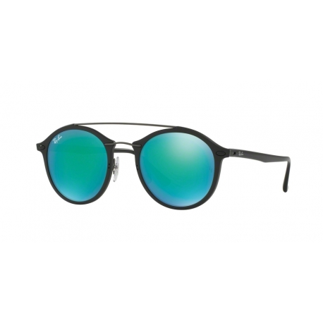 Ray-Ban RB4266 601S3R | Frame: matte black | Lenses: green mirror