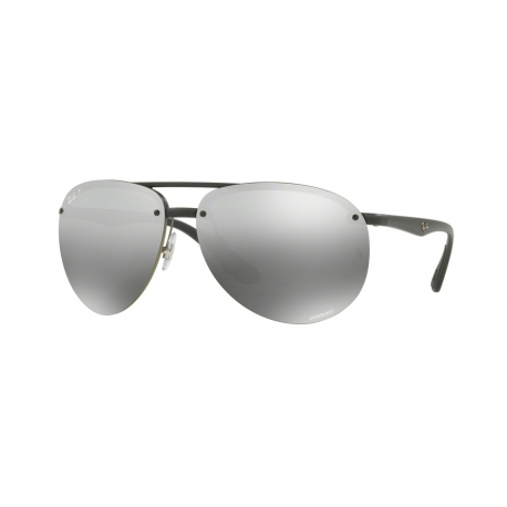 Ray-Ban RB4293CH 601S5J | Frame: matte black | Lenses: grey mirror grey gradient polarized