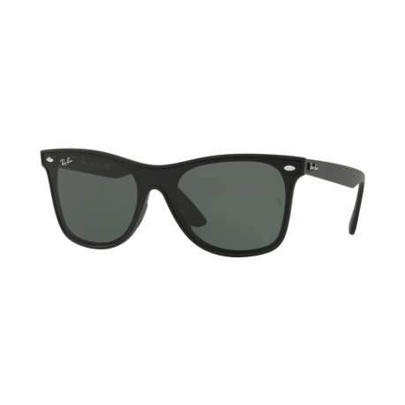 Ray-Ban RB4440N 601S71 | Frame: matte black | Lenses: green