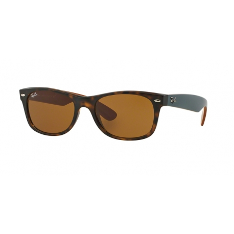 Ray-Ban RB2132 New Wayfarer 6179 | Frame: matte havana | Lenses: brown